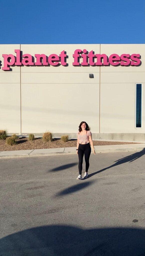 vanlifer with Planet Fitness memberships