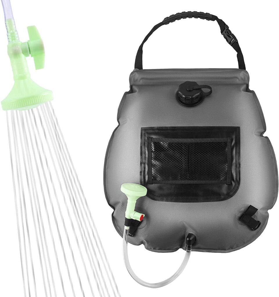 SVMPON Camping Shower Bag Solar Shower Bag