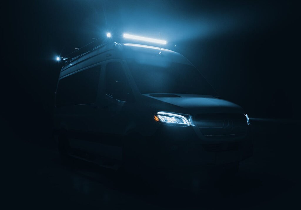 Tiffin Class B with bright LED light bar